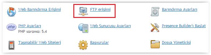 Plesk Panel FTP Ekleme